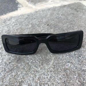 Chanel quilted CC logo sunglasses